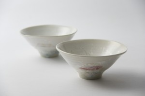 雪結晶釉茶碗hp