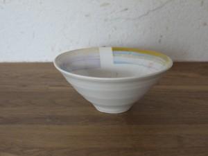 色彩結晶釉茶碗黄